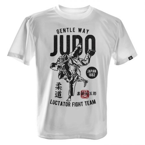LUCTATOR - Judo Fight Team - White - Front