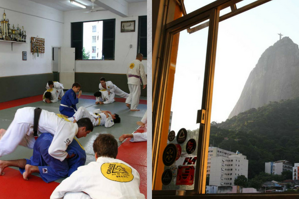 Gracie Humaita Main Academy di Rio de Janeiro