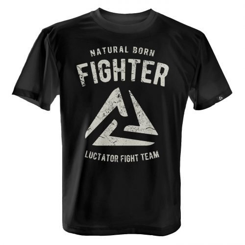 LUCTATOR - Fight Team - Black - Front