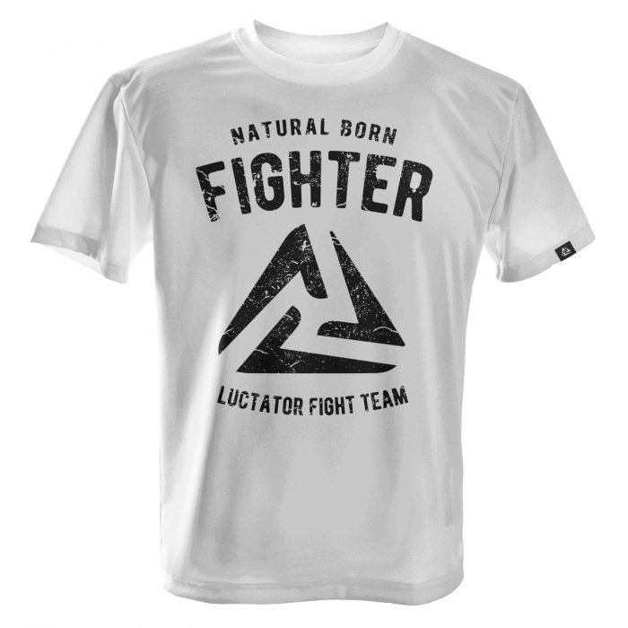 LUCTATOR - Fight Team - White - Front