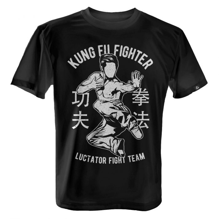 LUCTATOR - Kung Fu Fight Team - Black - Front