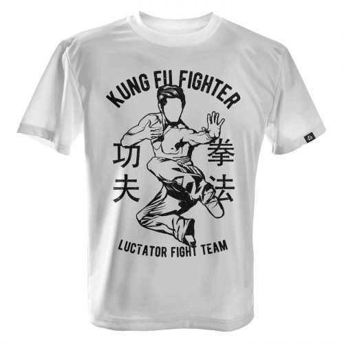 LUCTATOR - Kung Fu Fight Team - White - Front