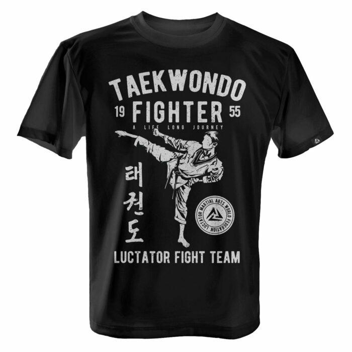 LUCTATOR - Taekwondo Fight Team - White - Front