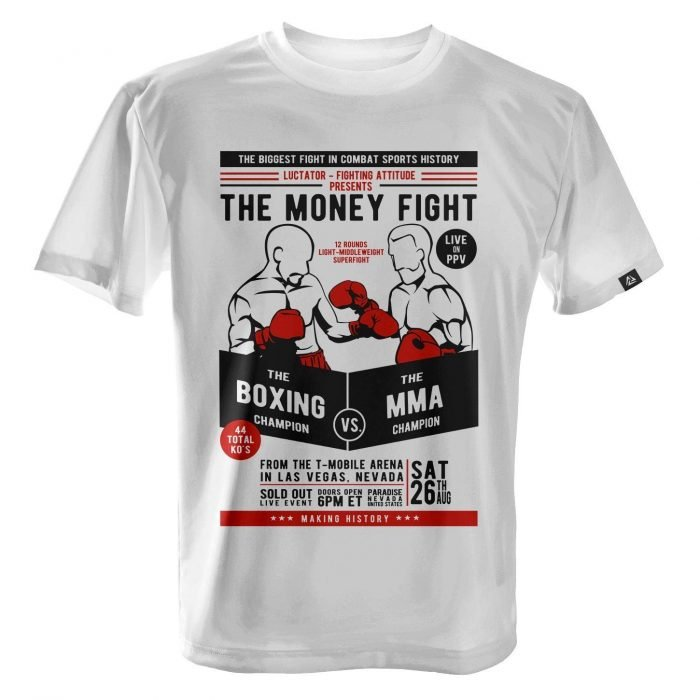 LUCTATOR - The Money Fight Fight - White - Front