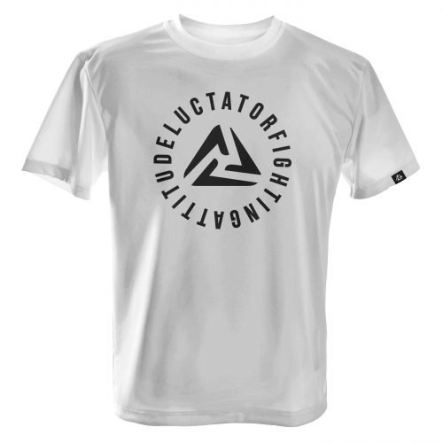 LUCTATOR - Infinite Circle - White - Front