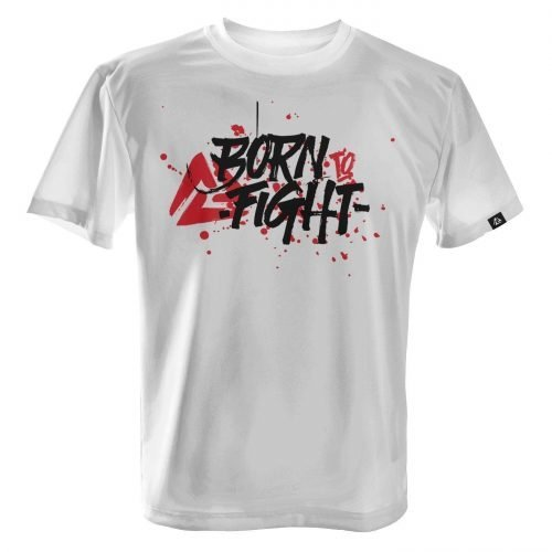 LUCTATOR - Born to Fight - White - Front