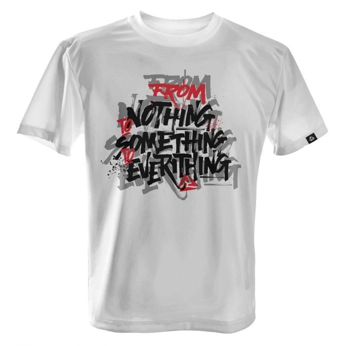 LUCTATOR - From Nothing To Everything - White - Front