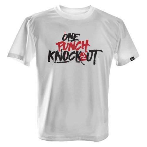 LUCTATOR - One Punch Knockout - White - Front